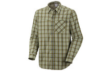 Columbia Men&#039;s Bug Shield Plaid Long Sleeve Shirt palm plaid